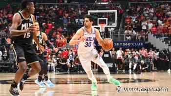 Furkan Korkmaz sticking with Philadelphia 76ers on 3-year, $15 million deal, per agents - ESPN