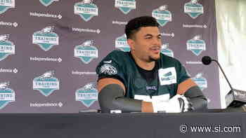 Eagles Notebook Day 5: The Pads are Coming Out, RB Depth, and More - Sports Illustrated