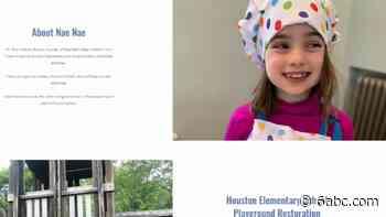 Henry H. Houston Elementary School third-grader bakes to repair Philadelphia playground - WPVI-TV