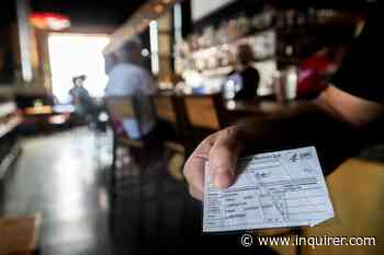 Philadelphia-area restaurants ask for proof of vaccinations, sparking debate - The Philadelphia Inquirer
