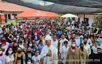 Obispo Mauricio Urrea visita el municipio de Guadalupe y Calvo - El Sol de Parral