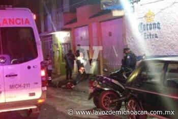 Asesinan a motociclista en la colonia Jardines de Guadalupe, en Morelia - La Voz de Michoacán