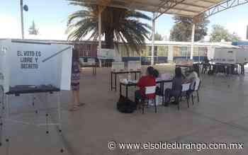 Sin gente en las casillas de la consulta ciudadana en Guadalupe Victoria - El Sol de Durango