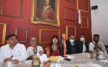 Guadalupe García, gobernadora de los pueblos originarios - Diario de Querétaro