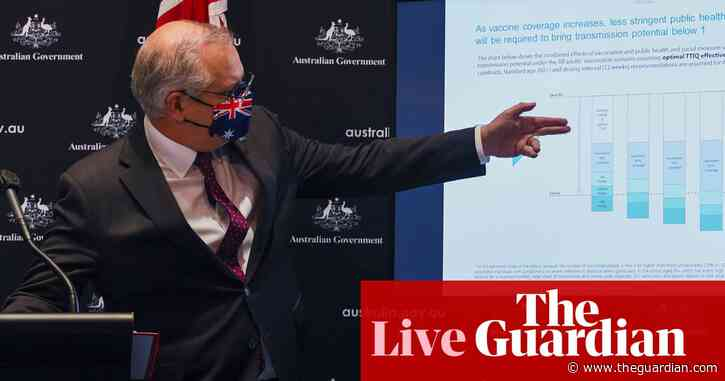 Morrison reveals modelling for Covid vaccine targets; NSW confirms 199 new local cases; Qld records 16 – politics live