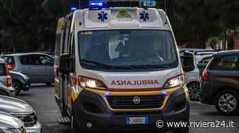 Bordighera, 17enne in moto si schianta contro auto sulla Romana: ferito - Riviera24 - Riviera24