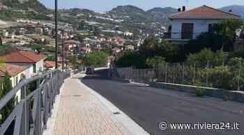 Bordighera, via Principessa Mafalda: terminati i lavori - Riviera24 - Riviera24