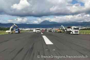 VIDEO. Clermont-Ferrand : les travaux de la piste de l'aéroport battent leur plein - France 3 Régions