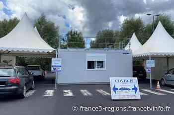 COVID 19 : à Clermont-Ferrand, dans un centre de dépistage, la part de tests positifs progresse - France 3 Régions