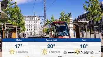 Météo Clermont-Ferrand: Prévisions du lundi 2 août 2021 - 20minutes.fr
