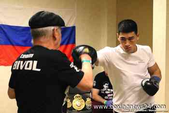 Dmitry Bivol already training for Canelo Alvarez fight on Sept.18th