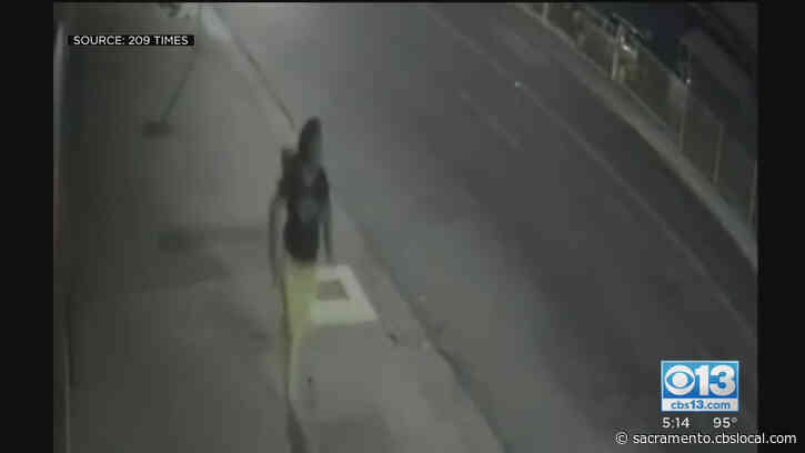 Stockton Surveillance Video Appears To Show Woman Being Abducted