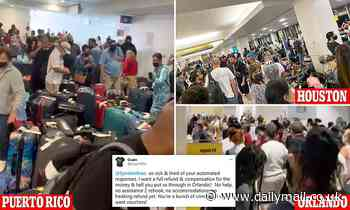 Passengers stranded as American cancels 500 flights, Spirit 400 and airlines buckle under demand