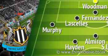 Newcastle's most likely starting XI for West Ham Premier League opener