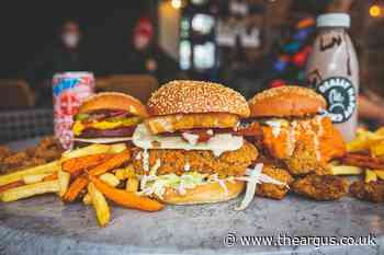 Vegan outlet Really Happy Chicken in top 30 best UK burger joints
