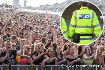 Man assaulted and robbed at On The Beach event in Brighton