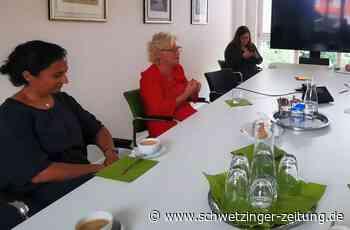Bundesjustizministerin Christine Lambrecht in Schwetzingen - Schwetzingen - Nachrichten und Informationen - Schwetzinger Zeitung