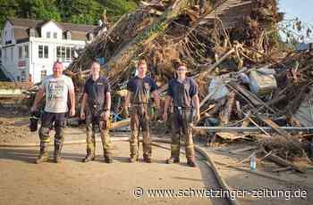 Werksfeuerwehrmann von Roche Mannheim entsetzt über Lage im Flutgebiet - Schwetzingen - Nachrichten und Informationen - Schwetzinger Zeitung