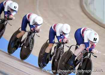 Bikes for Team GB track races created by Barnoldswick's Hope Technology