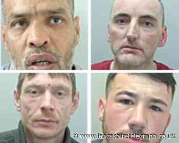 East Lancashire's most wanted in August 2021