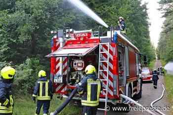 Ein Feuerwehrauto aus Italien - Freie Presse