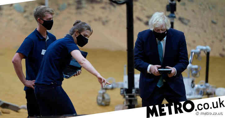 What could go wrong? Boris test drives prototype Mars rover