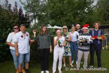 Familie viert Kerstmis met Steeg Kermis