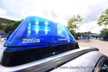 Radlader brennt auf der Kreisstraße bei Gersbach aus - Schopfheim - Badische Zeitung