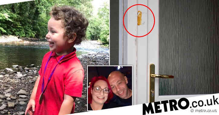 Doorbell footage seized after boy, 5, found dead 'while isolating with family'
