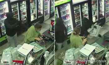 Two men storm convenience store with machete and tomahawkin Sydney's west in armed robbery