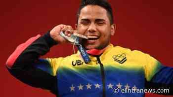 Juegos Olímpicos: el alocado festejo de Keydomar Vallenilla grita tras ganar la medalla de plata - El Intransigente América News