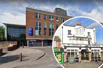'Police walked in when I was on the toilet' Hereford court told
