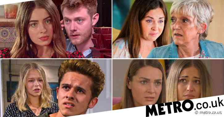 12 soap spoiler pictures: Coronation Street Daisy's shock move, EastEnders Ruby exposed, Emmerdale sex shock, Hollyoaks Summer exposed