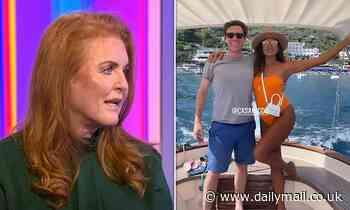 Sarah Ferguson defends son-in-law Jack Brooksbank after he was seen with bikini-clad women in Capri