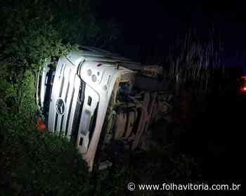VÍDEO   Casal de Santa Maria de Jetibá morre em grave acidente na Bahia - Folha Vitória
