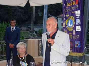 E' iniziato per il Lions Club Sanremo Host il nuovo anno sociale sotto la presidenza di Giancarlo Buschiazzo (Foto) - SanremoNews.it