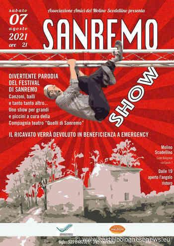 """Sabato 7 Agosto al Molino Scodellino lo spettacolo """"Sanremo show"""" • - CastelBolognese news"""