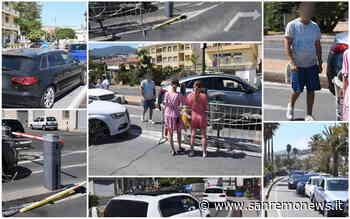 Sanremo: non riesce a pagare il parcheggio di via Calvino e sfonda la sbarra, altri automobilisti lo seguono (Foto) - SanremoNews.it