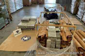 Receita Federal realiza apreensão de 537 kg de cocaína no Porto de Navegantes - Jornal de Pomerode