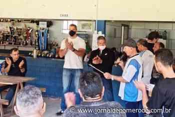 Empresário Elias Martins é homenageado, em Blumenau - Jornal de Pomerode