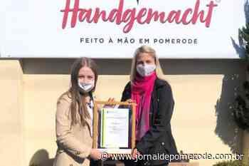 Agora, com a marca registrada - Jornal de Pomerode
