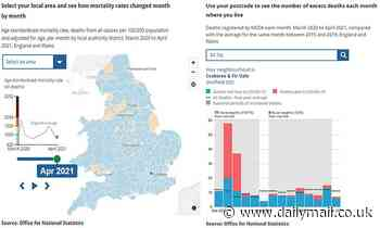 Covid-19: Postcode-searching tool breaks down deaths in all neighbourhoods in England and Wales