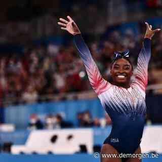 Live - Simone Biles neemt afscheid van Spelen met bronzen medaille