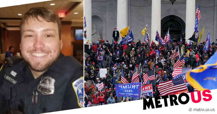 Fourth Capitol cop who clashed with rioters has died by suicide