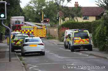 Salthill Road in Fishbourne closed as fire service attend incident