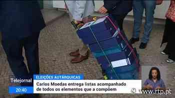 Listas de candidatos às autárquicas entregues em Lisboa e no Porto - RTP