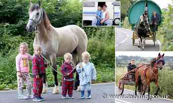 Travellers head to Appleby Horse Fair which typically attracts tens of thousands of visitors