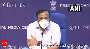 Coronavirus live updates: Case positivity is over 10% in 44 districts of the country, says health ministry - Times of India