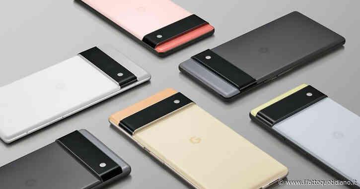 Google Pixel 6, ufficiale il nuovo smartphone e il primo processore proprietario