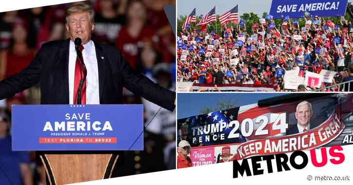 Donald Trump to hold another campaign-style rally as he teases 2024 presidential run